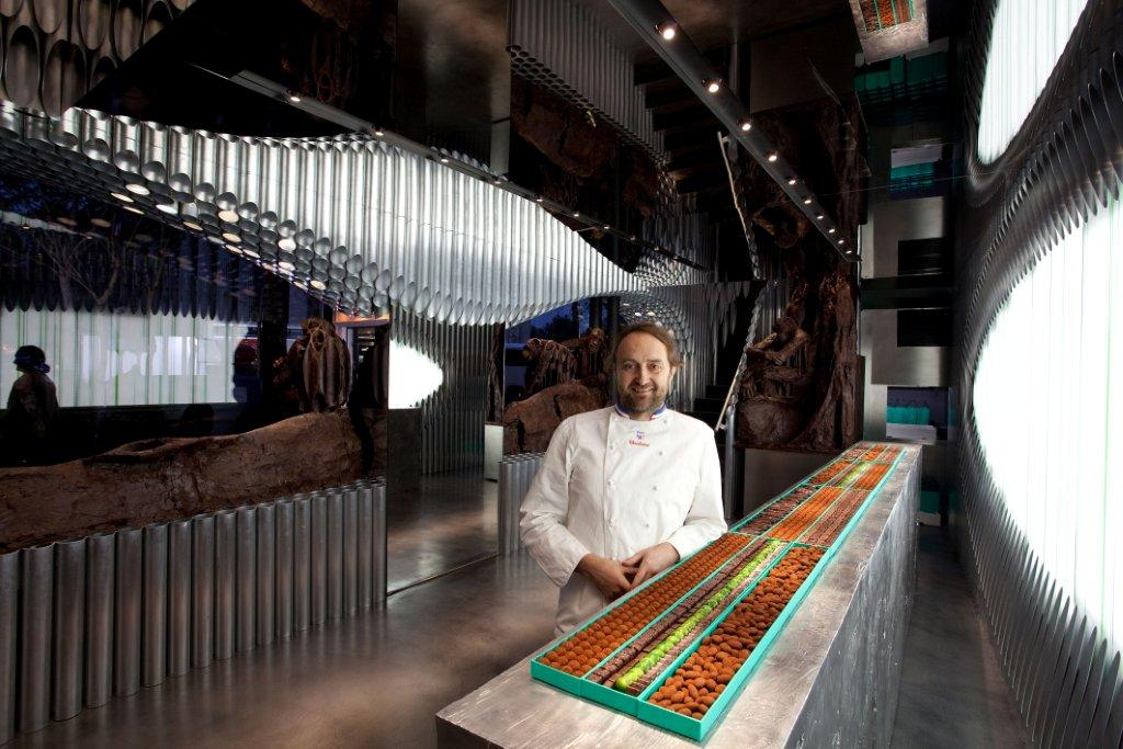 Chocolate patrick roger s art and dream at la madeleine - Patrick roger chocolatier paris ...