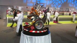 F1 car showpiece by France