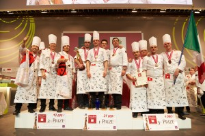 Pastry World Cup Podium