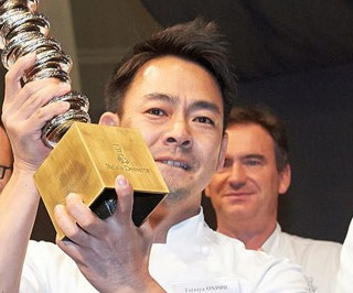 Japanese chef Tetsuya Onishi wins the 'Dalí' Charles Proust