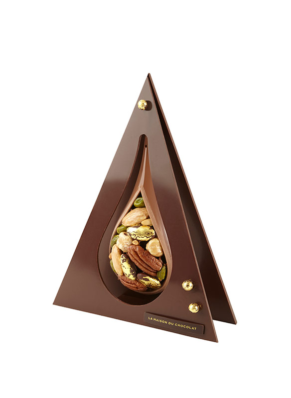 a spectacular christmas at la maison du chocolat. Black Bedroom Furniture Sets. Home Design Ideas