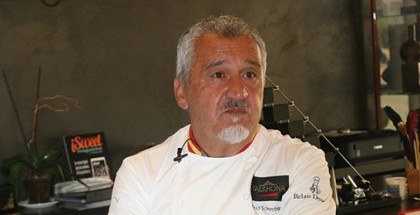 Pastry chef Paco Torreblanca