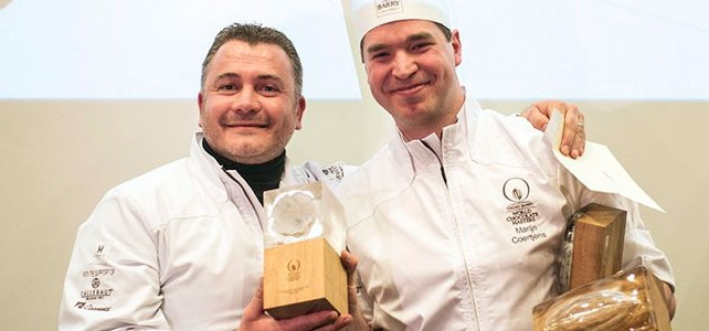 The Belgian candidate Marijn Coertjens gives a new dimension to World Chocolate Masters