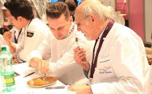 judges' panel the Open Desserts Glacés