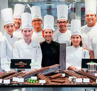 International pastry chefs at the opening of École du Grand Chocolat in New York