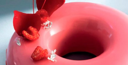 Raspberry entremet by William Curley