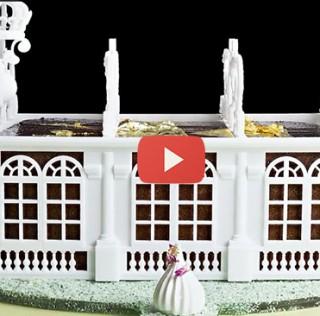 A 3D brioche Versailles for Bastille Day