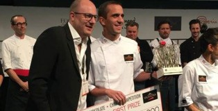 Winner Valrhona C3 Competition