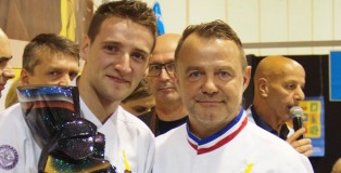 Yoan Laval and Pascal Caffet