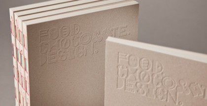 Cover food chocolate design