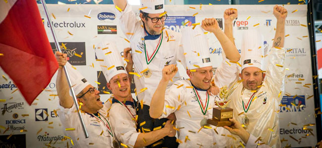 Italy once again wins the Gelato World Cup