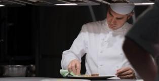 Benoît Violier at the kitchen of Crissier Restaurant