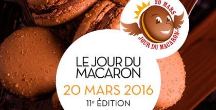Cartel Le Jour du Macaron 2016