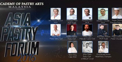 Asia Pastry Forum 2016