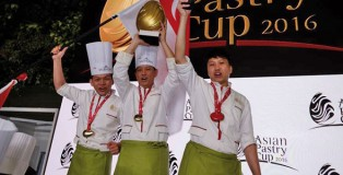 The Singapore team, Coupe du Monde de la Pâtisserie 2017