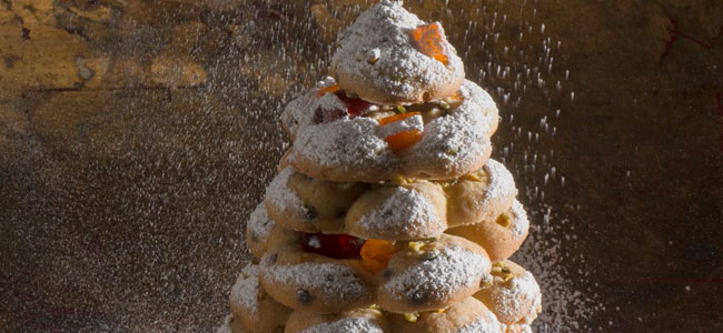 """Gourmandises de Fêtes"", Christmas recipes by Thierry Mulhaupt"