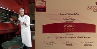 Bonnat Chocolatier, winner in Plain/origin dark bar categories for Selva Maya