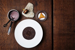 Chocolate, plum and cognac by Jonathan Kjølhede Berntsen