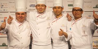 The japanese team, winners of the World Championship 2015