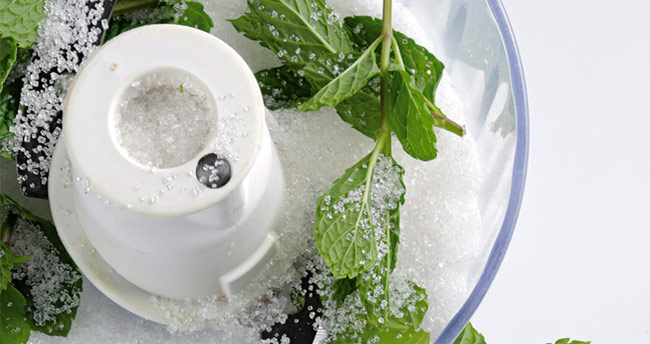 Peppermint sugar can be stored in a refrigerator for one month