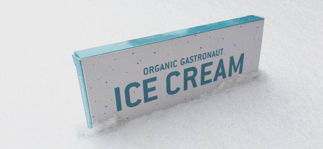 A new freeze-dried ice cream with organic ingredients has been released