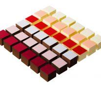 Cubic bonbons by Pierre Marcolini