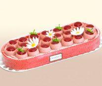 Strawberry's ice cream Oberweis