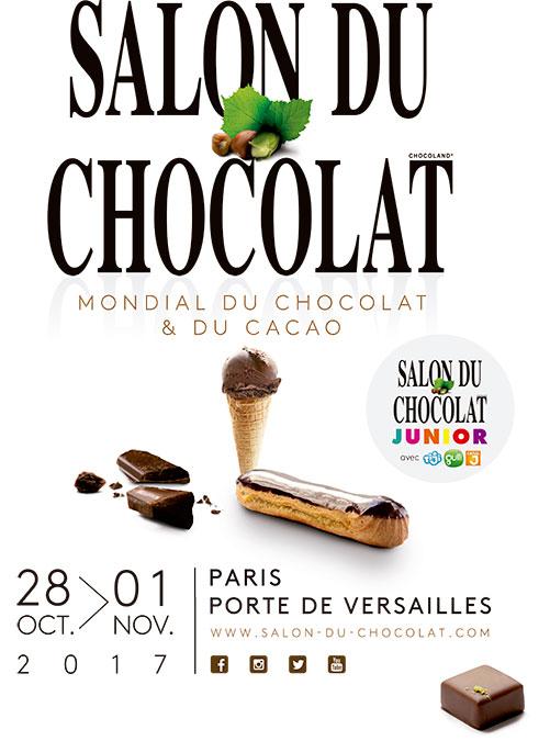 Salon du chocolat 2017 the great chocolate adventure for Salon industrie paris 2017