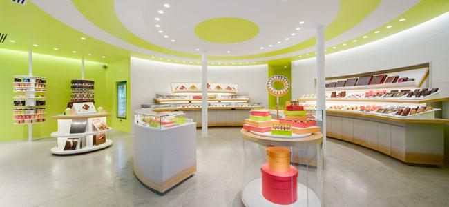 New Pierre Hermé shop in Paris