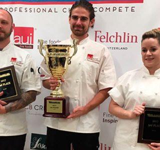 Kévin Clémenceau wins the AUI Pastry CUP 2017