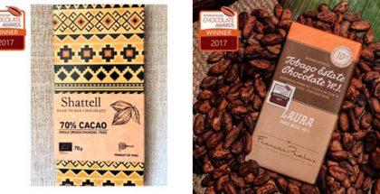 shattell and Tobago. International Chocolate Awards 2017