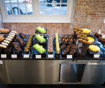 Final buffet course Bachour at l'École Valrhona Brooklyn