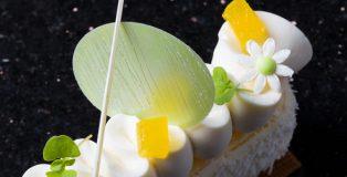 detail yogurt cheesecake by Bachour