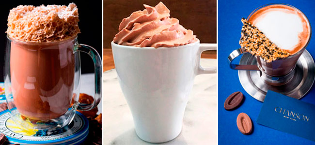 Three hot chocolate recipes you'll find at the Valrhona Festival 2018 in NYC