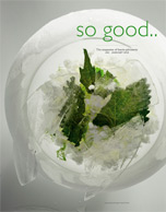 Cover Art for So good.. : the magazine of hâute pâtisserie.