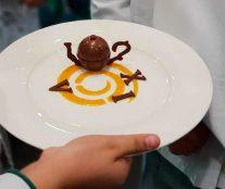 Plated dessert by Chile Copa Maya