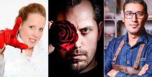 Mrike Van Beurden, Frank Haasnoot and Hans Ovando