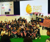 Malaysia podium Asian Pastry Cuo 2018