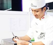 Yusuke Aoki wins the Asian qualifier for the C3 Valrhona