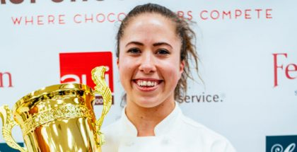 Courtney Comier, winner AUI Pastry Cup