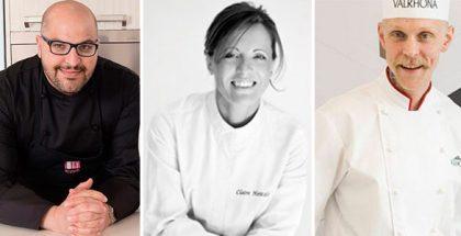 Antonio Bachour, Claire Heitzler and Fredrik Borgskog