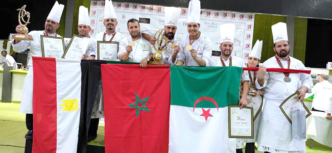 Morocco once again wins the African Pastry Cup