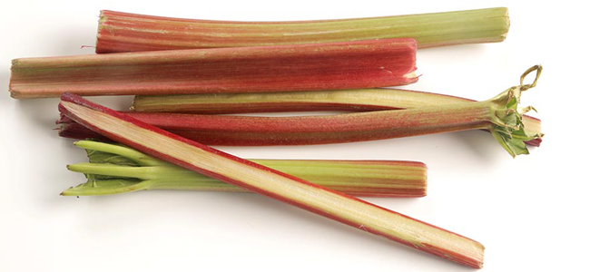 Ten examples of the possibilities of rhubarb in modern pastry