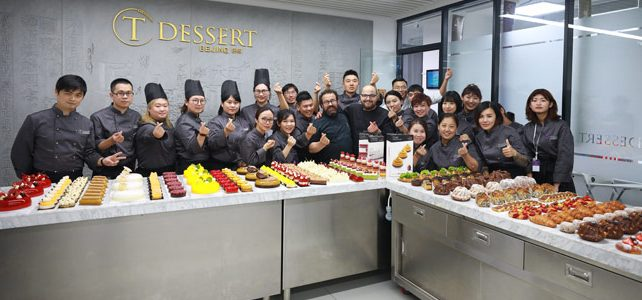 Antonio Bachour and Carles Mampel, together at T Dessert in Beijing