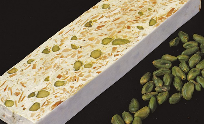 Willaume and pistachio nougat