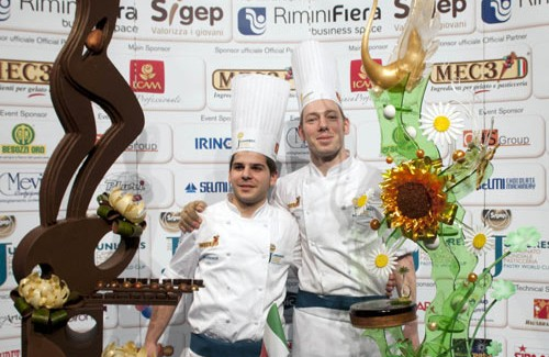 Italy demonstrates the level of its junior pastry chefs