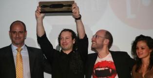 """Victor Trochi, """"The Best Restaurant Dessert 2011"""" and Ana Lucía Jarquín, """"Best Nespresso Restaurant Dessert 2011″"""
