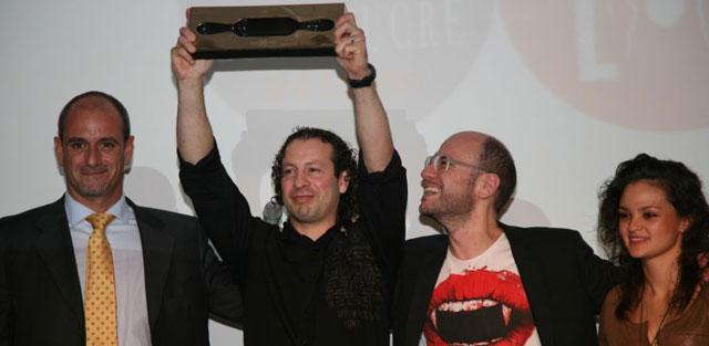 Victor Trochi wins the 3rd Best Dessert of Restaurant