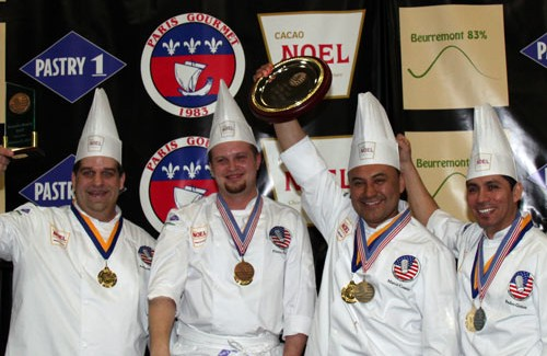 Us Pastry Competition and the four elements of nature