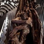 ape's chocolate sculpture